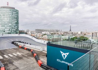 CUPRA Launch Rooftop Driving Experience