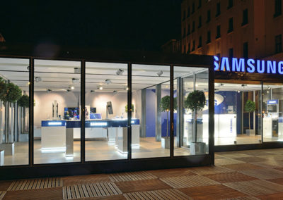 SAMSUNG Pop up Store