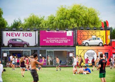 PEUGEOT Festival Activation